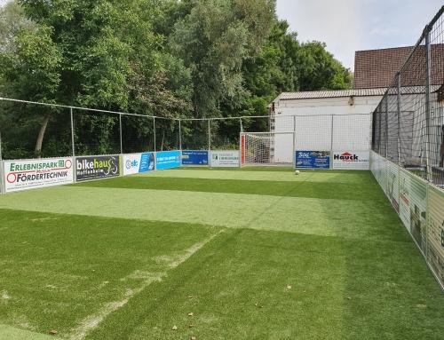 Soccer Field ist fertig